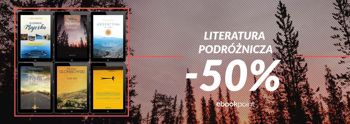 Promocja na ebooki Literatura podróżnicza [Novae Res -50%]